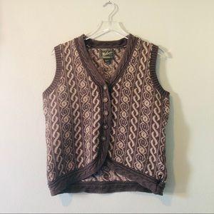 🌸 Woolrich vintage sweater vest